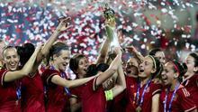España hizo historia al imponerse en la Copa Algarve.