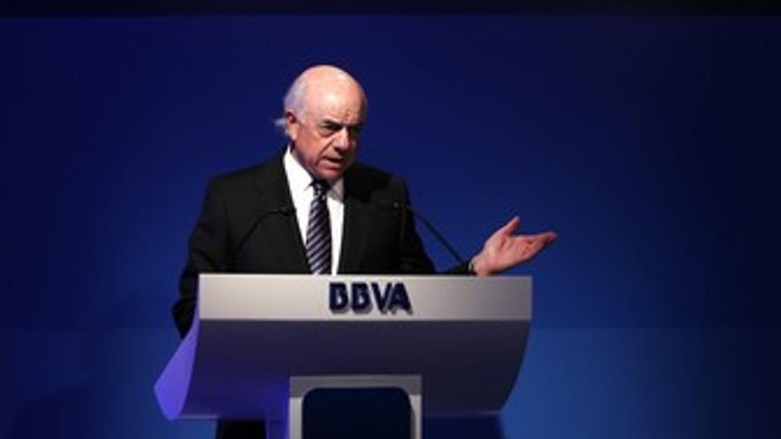 Presidente de BBVA, Francisco González