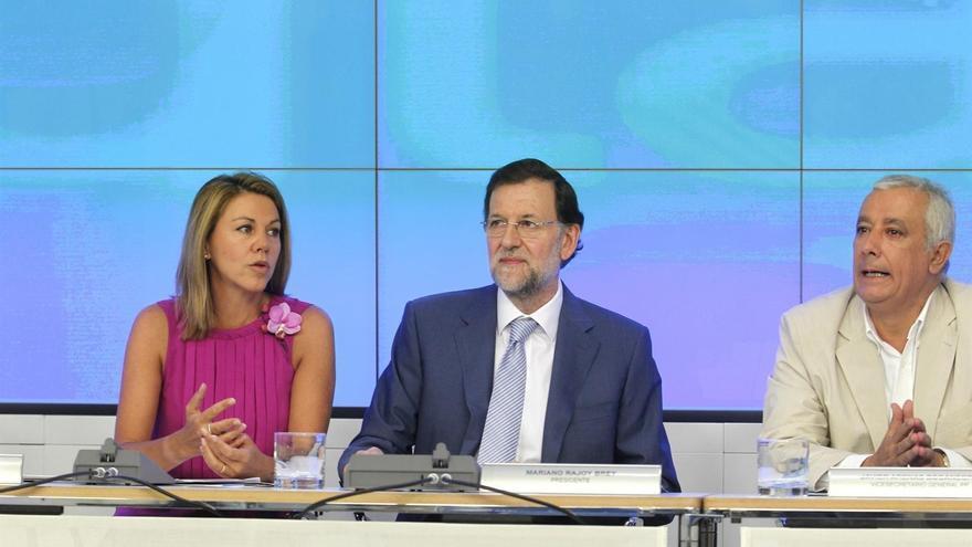 Rajoy negó anoche ante sus 'barones' que España vaya a pedir el rescate este fin de semana