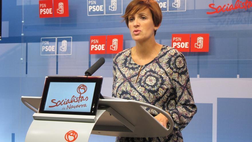 """Chivite pone """"en cuestión"""" los datos del Gobierno sobre la reforma fiscal del PSN, que están """"abiertos"""" a mejorar"""