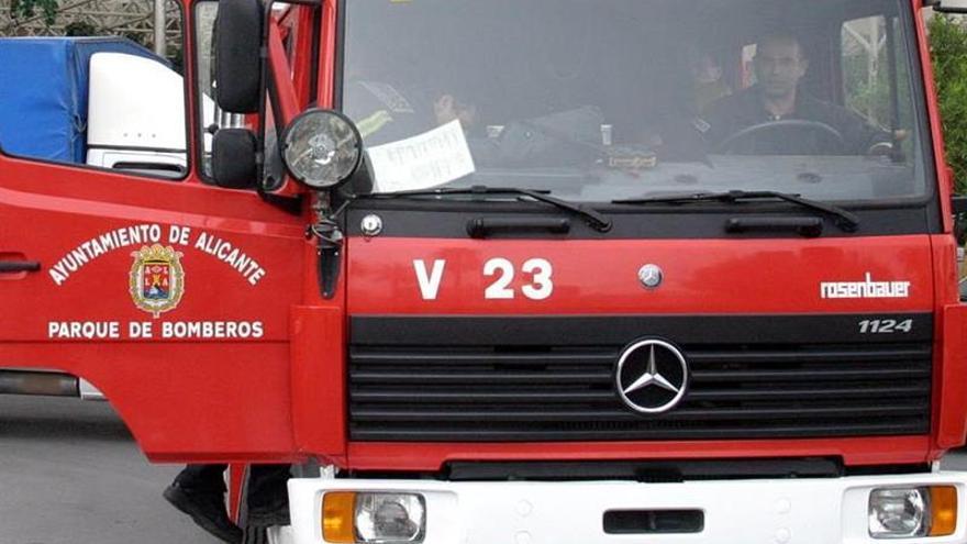 Mueren dos ancianos en un incendio en su vivienda de Alicante