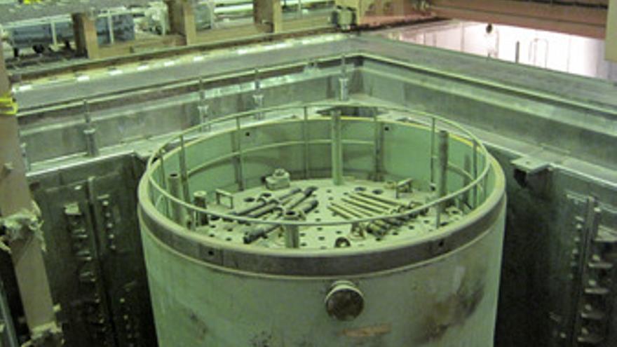 Interior de la planta nuclear iraní de Bushehr (Irán)