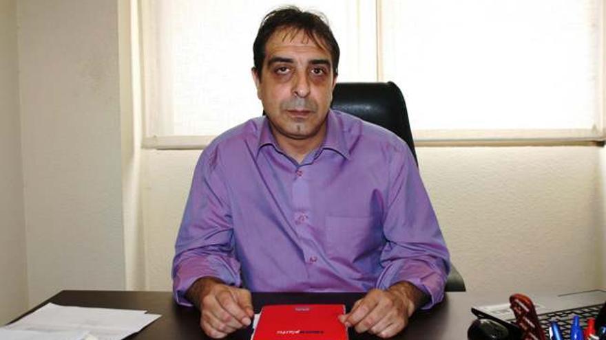 Adrián Rodríguez Santos, Ganemos-IU-LV Badajoz