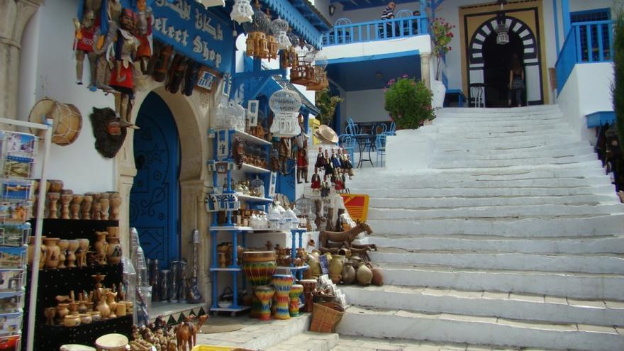 El pueblo costero de Sidi Bou Said.