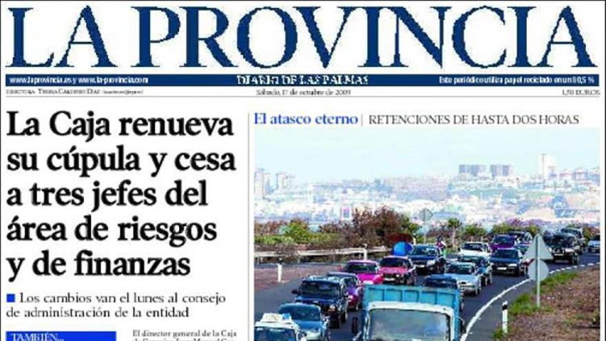 De las portadas del día (17-10-09) #2