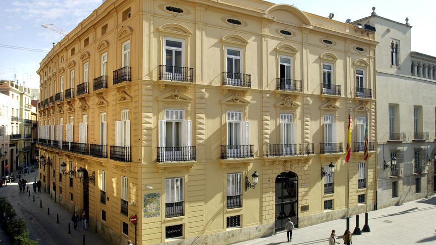 La sede de la Diputación de Valencia, en el palau de la Batlia
