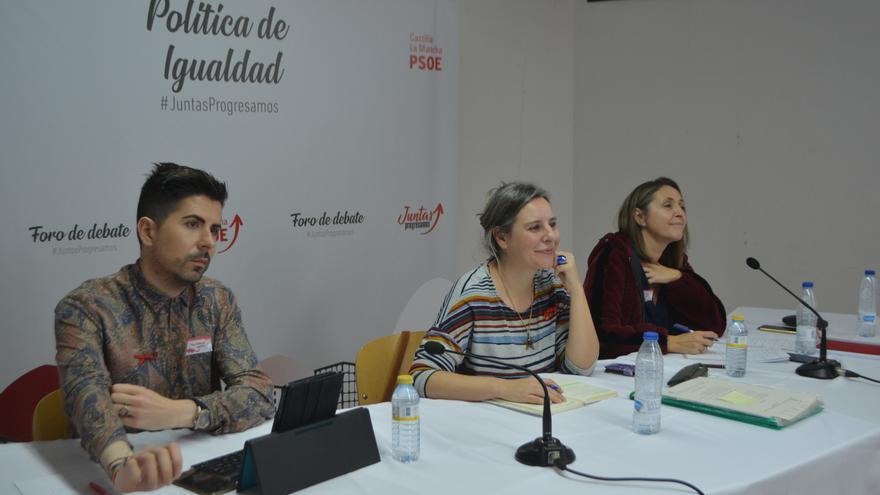 Mesa de Igualdad durante el Foro de Debate