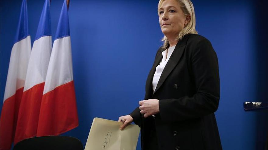 Le Pen presenta propuestas para luchar contra el terrorismo en Francia