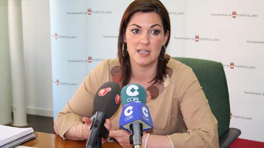Mayte Fernández, alcaldesa de Puertollano / Foto: miciudadreal.es