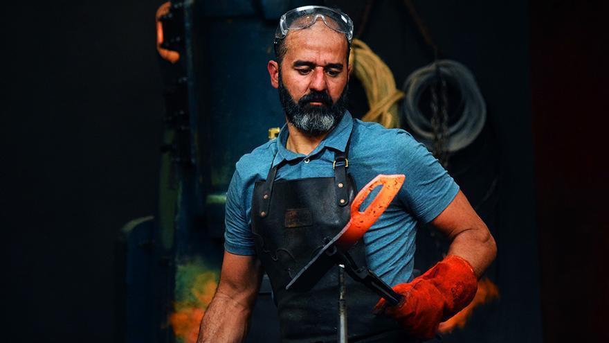 Miguel Barbudo en 'Forjado a fuego: Edición Internacional'