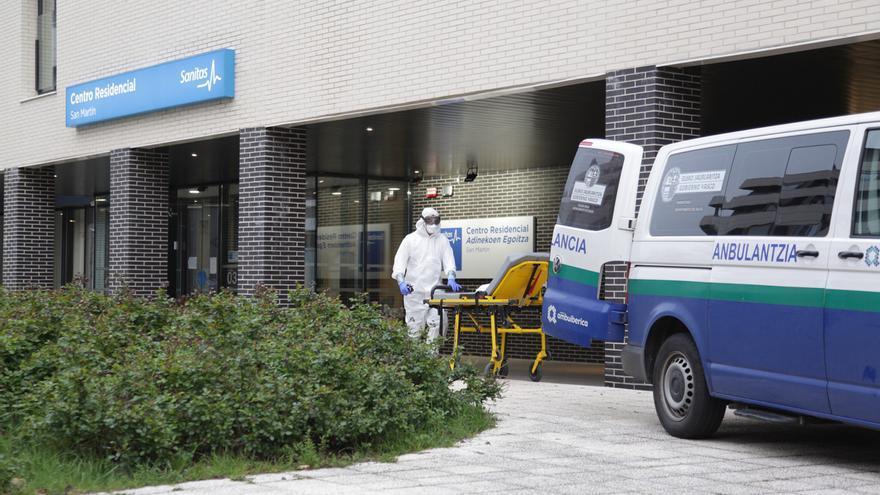38 fallecimientos más y 441 nuevos contagios en Euskadi, según el Ministerio de Sanidad