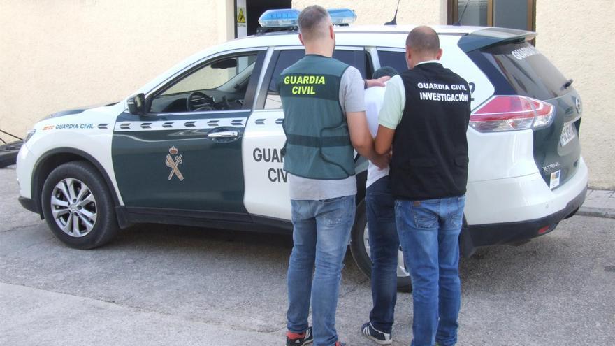 Imagen cedida por la Guardia Civil.