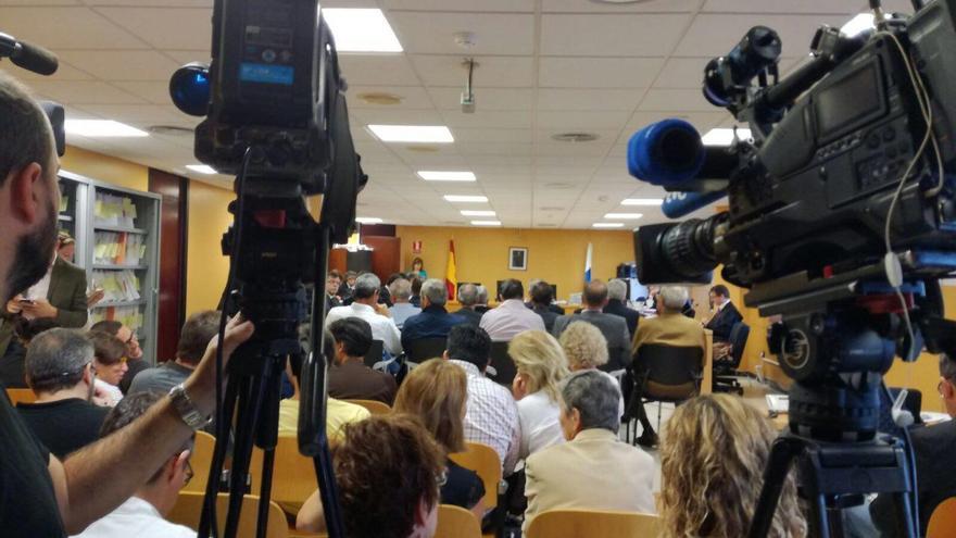 Sesión del 7 de noviembre del juicio del caso Las Teresitas