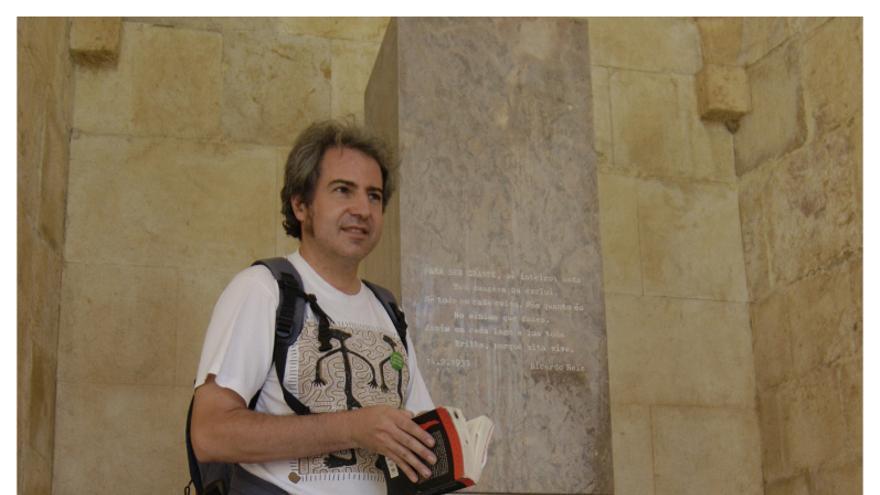 David Martín, profesor interino de Matemáticas en Secundaria.