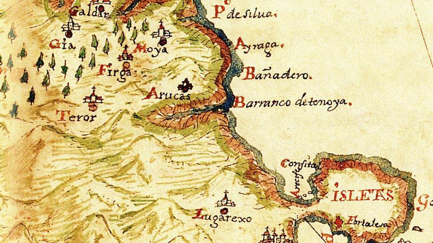 La Gran Canaria curiosa una mirada a la Isla en 1764