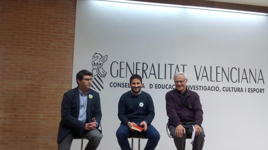 Jorge Rodríguez, Vicent Marzà y Joan Ribó