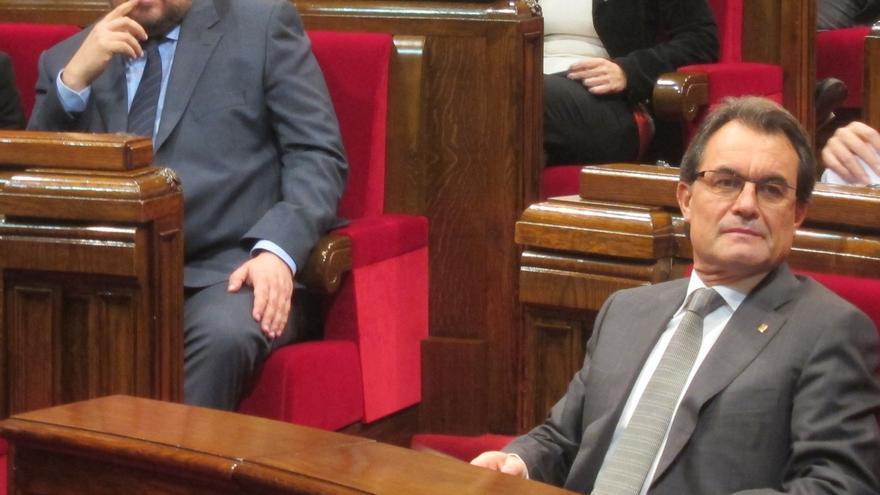 La reunión entre Mas, Junqueras y las entidades arrancará sobre las 15.00 horas