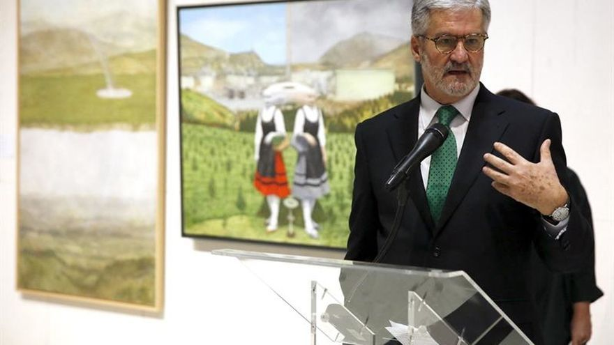 "El Museo de Bilbao restaura ""Festín Burlesco"", obra maestra del flamenco Mandijn"