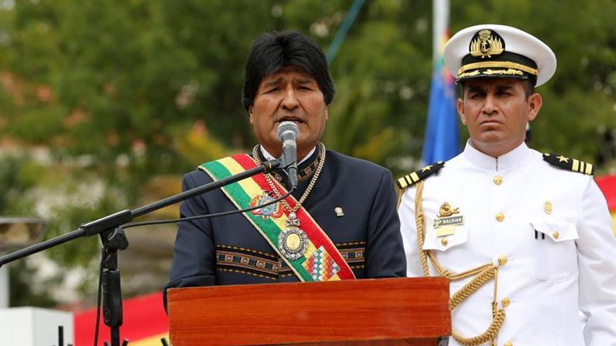 BOLIVIA Evo Morales expresa su solidaridad a México tras el terremoto