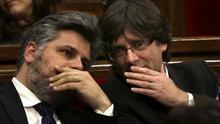 JxCat prepara un acto el sábado en Waterloo por el regreso de Puigdemont