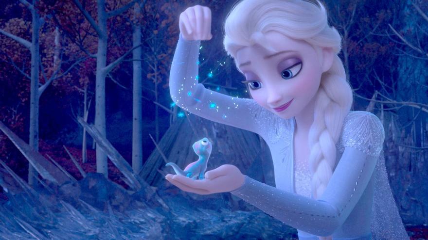 Elsa en 'Frozen II'