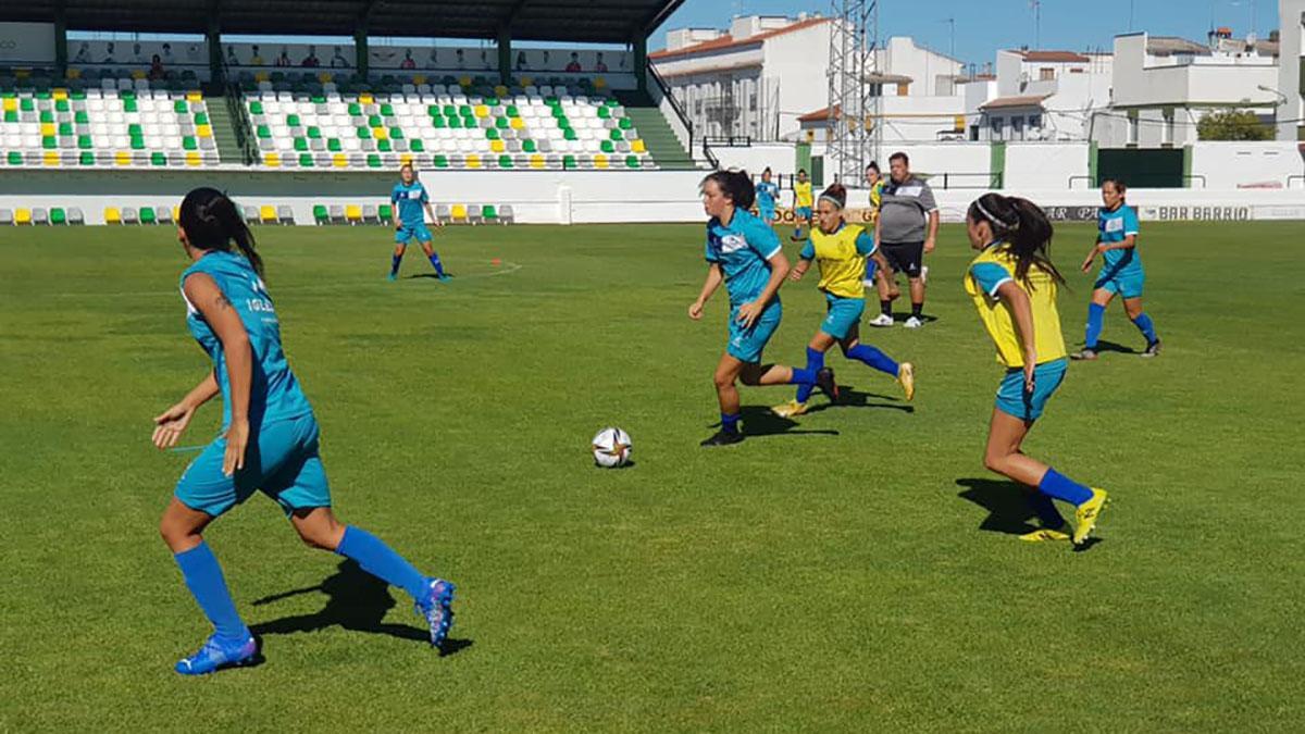 Imagen de un entrenamiento del Pozoalbense.