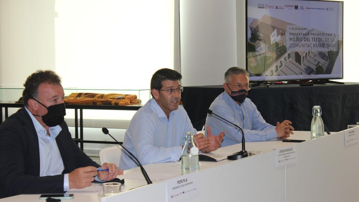 Imagen del acto de presentación del proyecto.
