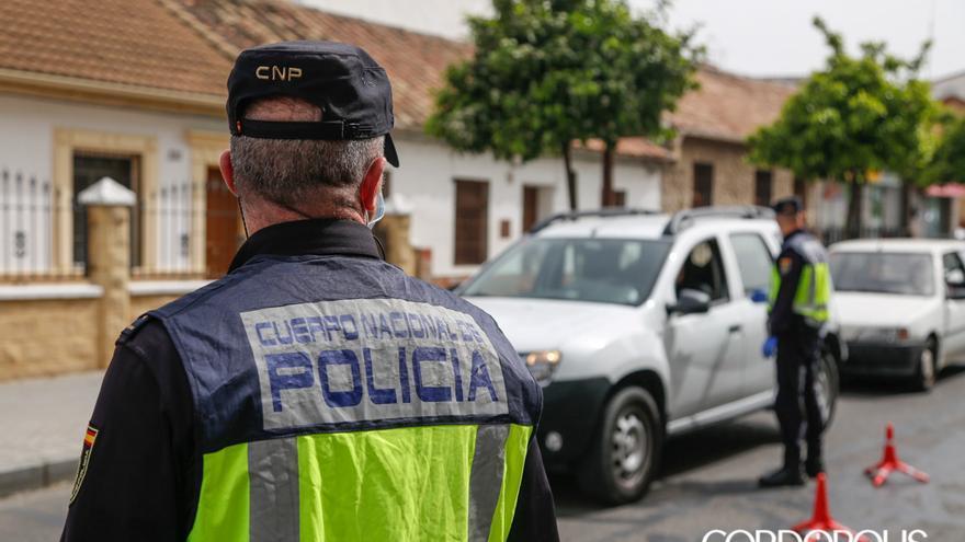 Control policial en estado de alarma |ALEX GALLEGOS