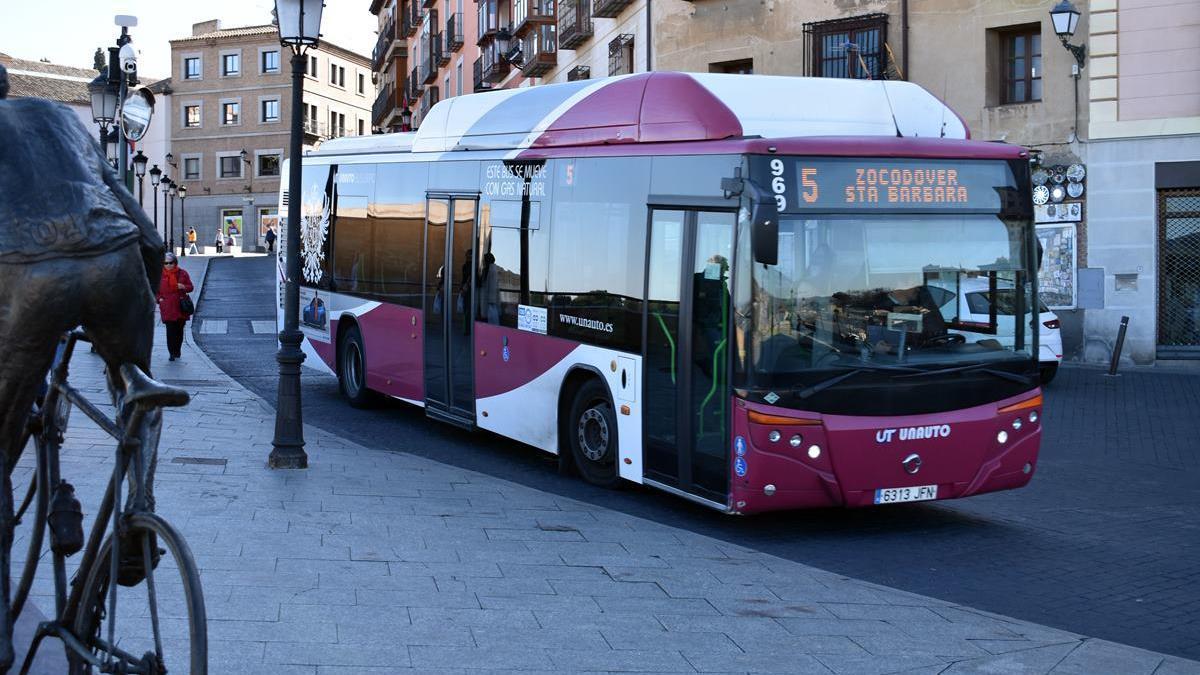 Autobús en Toledo