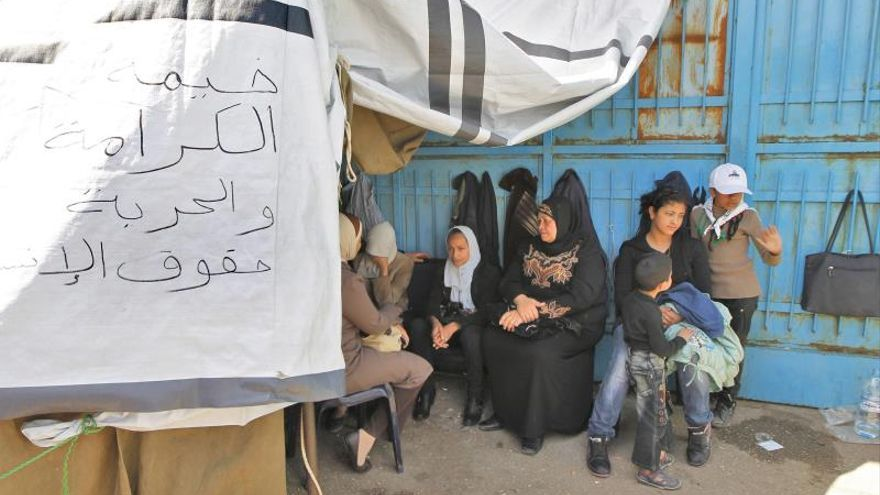 La ONU no tiene acceso al campo de refugiados de Yarmuk desde hace 10 días