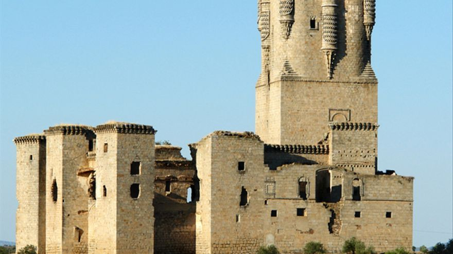 Panorámica del castillo de Belalcázar.