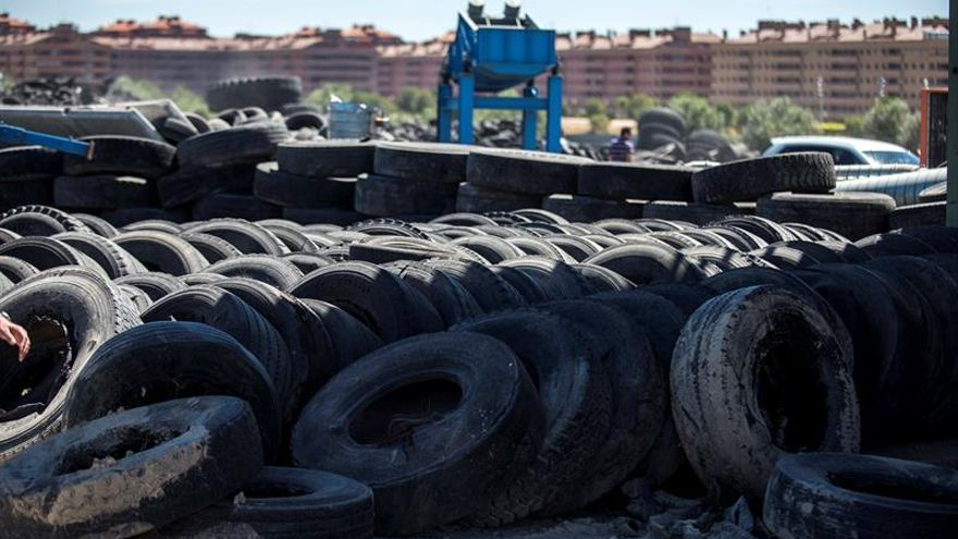 Castilla-La Mancha ha retirado ya 7.000 toneladas de ruedas en Seseña