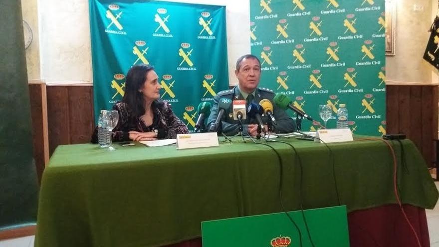 """La Subdelegación asegura que la despedida a los guardias civiles destinados a Cataluña fue """"espontánea"""""""