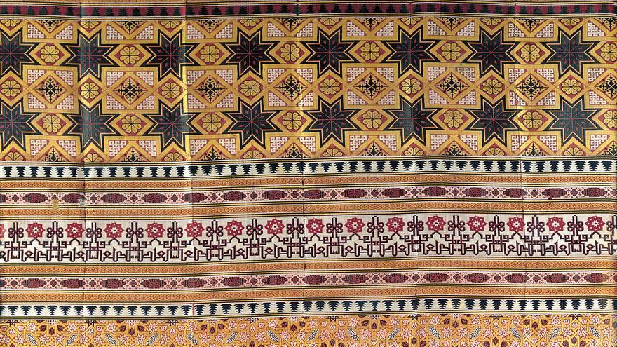 C:\fakepath\Seda de la Alhambra. Nazarí, Granada. Seda, Granada, h. 1400.jpg