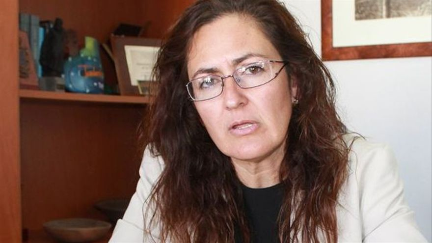 Elena Fumero, alcaldesa de Arico