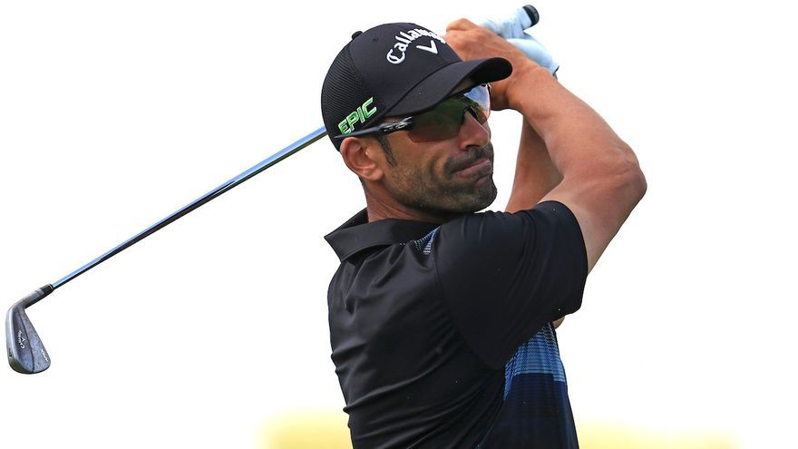 El golfista gaditano Álvaro Quirós