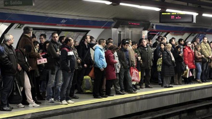 Servicios mínimos del 48 y del 59 por ciento para los paros del miércoles y jueves en Metro