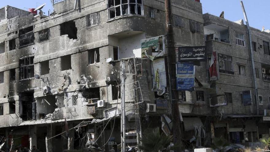 Al menos once muertos por un bombardeo del régimen sirio en las afueras de Alepo