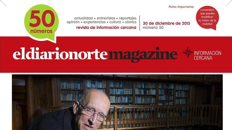 Portada de la revista especial numero 50 de eldiarionorte.es
