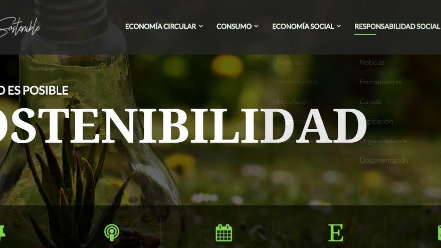 Portal web www.clmsostenible.es