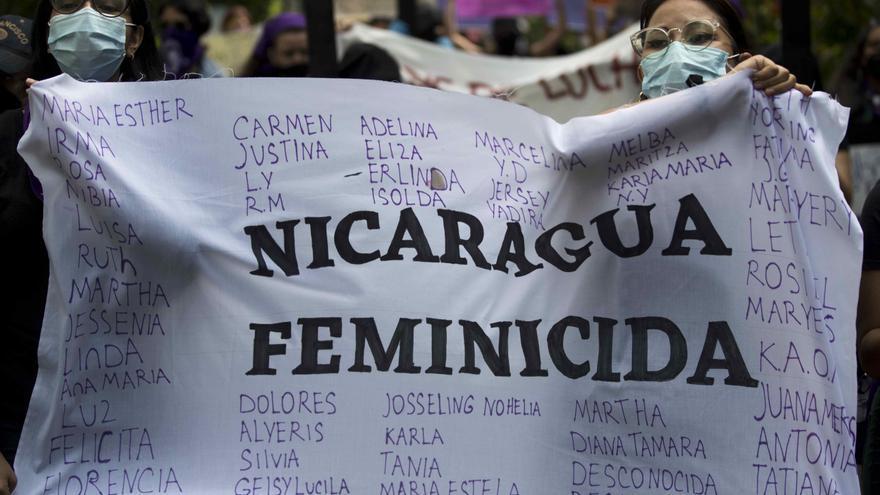 ONG denuncia 18 feminicidios en Nicaragua en lo que va de 2021