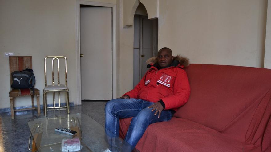 Ogboka, en la casa en la que vive / N. C.
