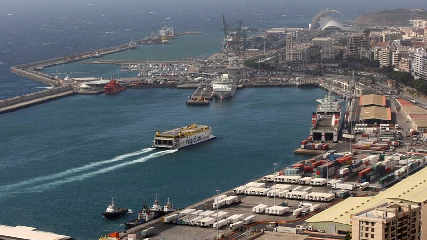 Imagen general del Puerto de Santa Cruz de Tenerife.