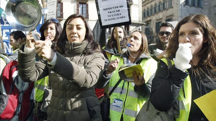 Un año después del cierre de Spanair los empleados siguen sin indemnizar