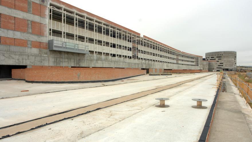 Obras del Hospital universitario de Toledo. Foto oficial.