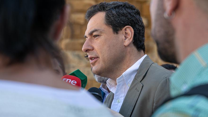 """Moreno ofrece a Susana Díaz """"un diálogo sincero"""" sobre los Presupuestos y critica que hable """"permanentemente"""" de Vox"""