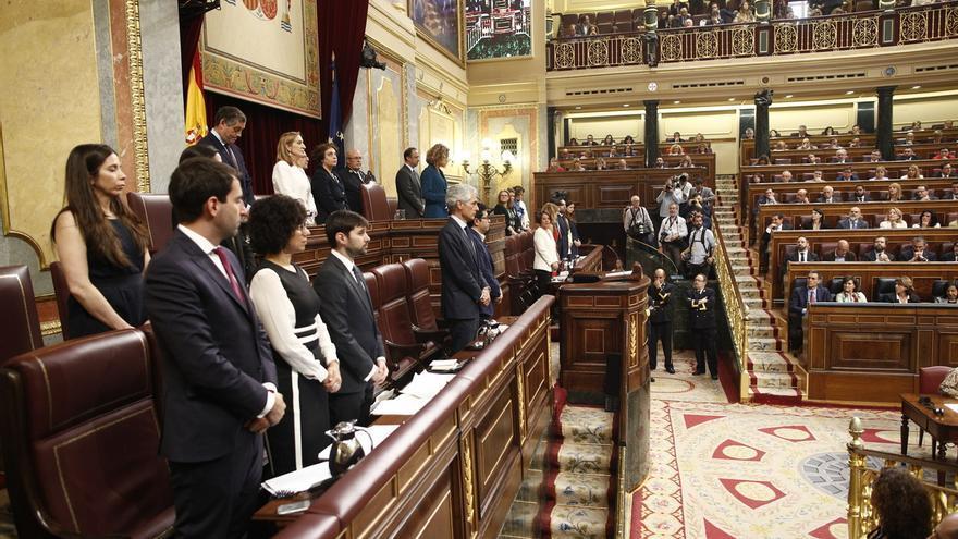 Elizo (Podemos) no descarta volver a preguntar al Supremo sobre la suspensión de los diputados presos del 'procés'