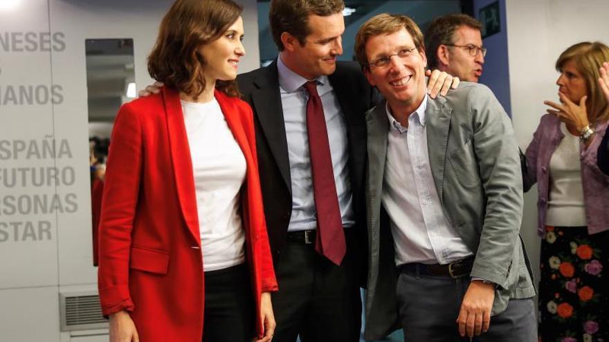 El PP crea un comité negociador para los acuerdos con García Egea, Maroto y Beltrán