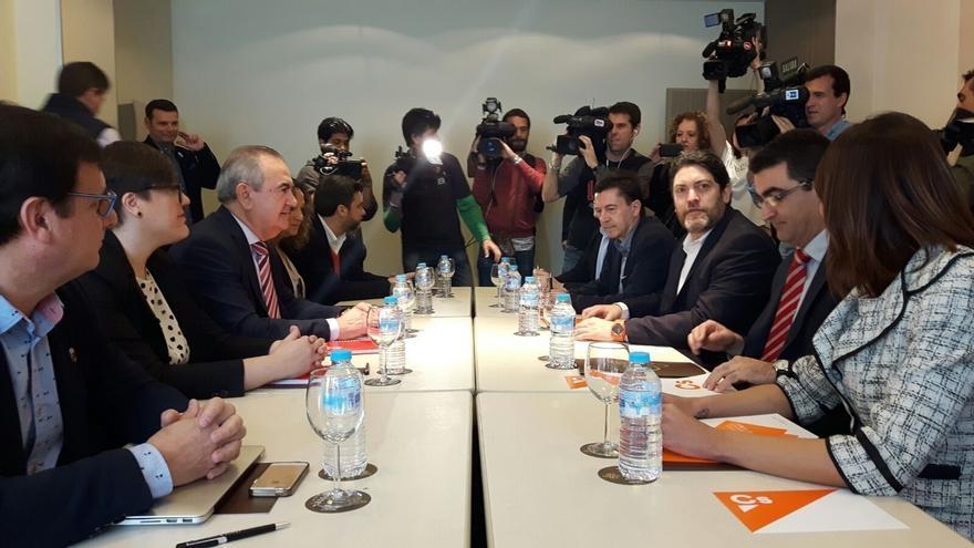PSOE y Cs de Murcia discrepan porque el partido de Rivera sólo quiere la moción de censura para convocar elecciones