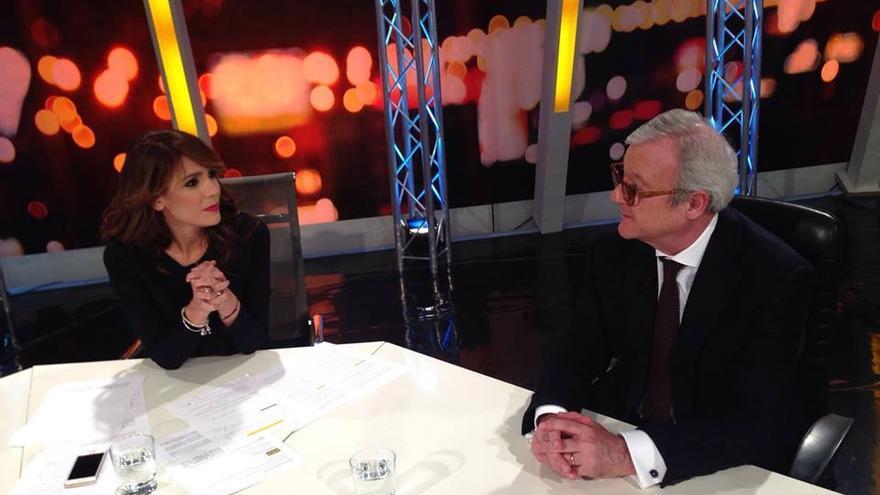 Ramón Luis Valcárcel y Marienca Fernández, La Cuenta Atrás, GTM Televisión